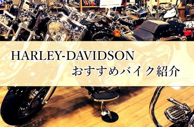 harley-davidsonのおすすめバイク紹介